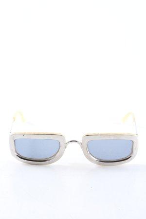 Christian Dior Gafas Retro color plata look casual