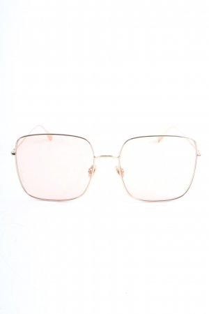 Christian Dior Retro Glasses pink-gold-colored casual look