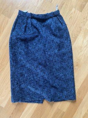 Christian Dior Rock S Tweed schwarz blau grau