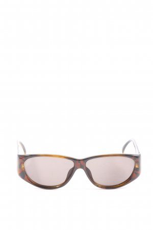 Christian Dior Retro Glasses brown-black leopard pattern casual look