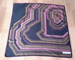 Christian Dior Sciarpa di seta multicolore Seta
