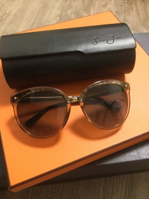 Christian Dior Butterfly bril bruin-goud