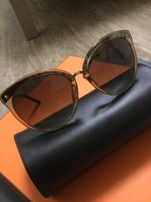 Christian Dior Butterfly Glasses brown-gold-colored