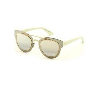 Christian Dior Okulary w stylu panto srebrny