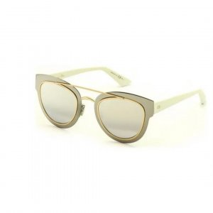 Christian Dior Gafas panto color plata
