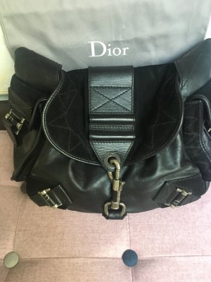 Dior Hobos black-silver-colored