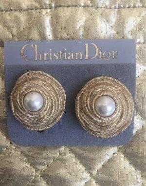 Christian Dior Pendientes de clip multicolor