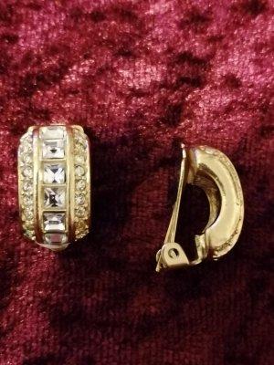 Christian Dior Oorclips goud