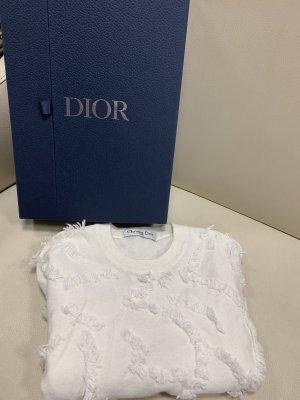 Christian Dior weiss pullover mit box