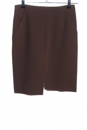 Christian Lacroix Pencil Skirt brown extravagant style