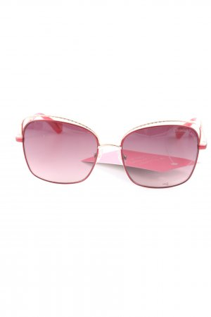 Christian Lacroix Angular Shaped Sunglasses red casual look