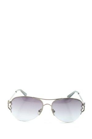 Christian Lacroix Aviator Glasses silver-colored elegant