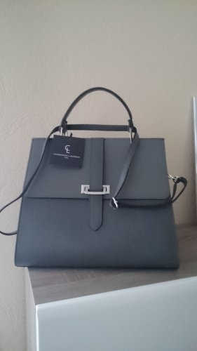 Handbag anthracite leather
