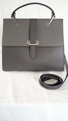 Christian Laurier Carry Bag dark grey leather