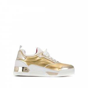 Christian Louboutin Aurelien Donna Leather Sneakers