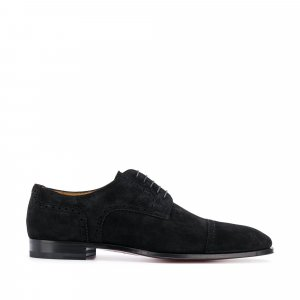 Christian Louboutin Cousin Charles Velour Oxfords