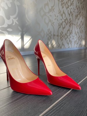 Christian Louboutin High Heels red leather