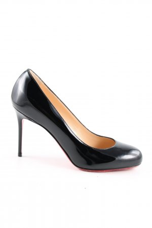 Christian Louboutin High Heels schwarz-rot Business-Look