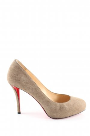 Christian Louboutin High Heels creme Business-Look