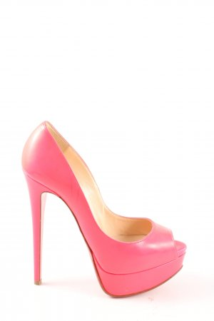 Christian Louboutin High Heels pink Casual-Look