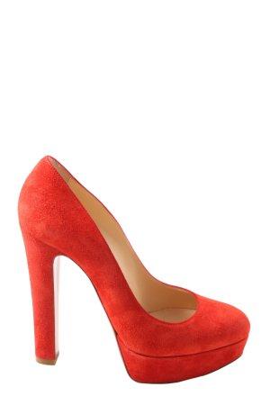 Christian Louboutin High Heels rot Elegant