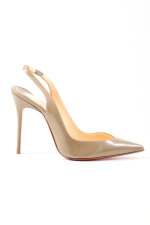 Christian Louboutin High Heels natural white elegant