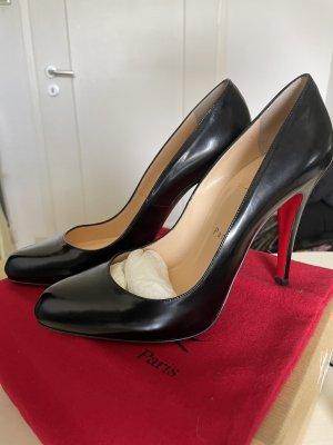 Christian Louboutin Classic Court Shoe black-red