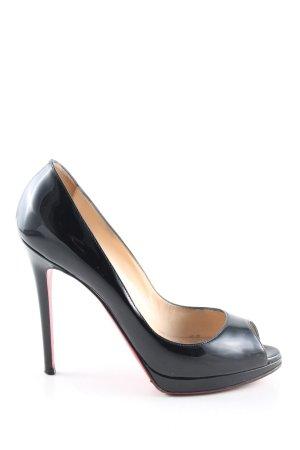 Christian Louboutin High Heels schwarz Elegant