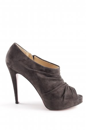 Christian Louboutin Hochfront-Pumps braun Casual-Look