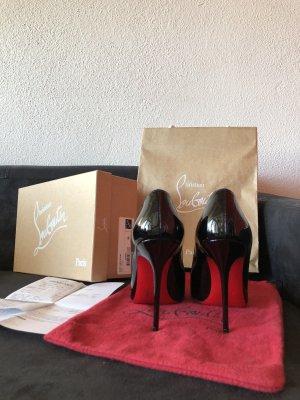 Christian Louboutin - Kate 100 Patent aus Paris!!