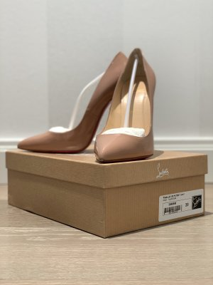 Christian Louboutin Pigalle 120cm Nude Gr. 39