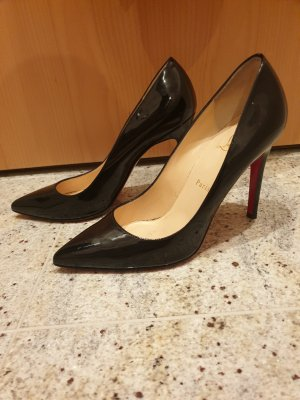 Christian Louboutin Pigalle Patent Leather Black 38 1/2
