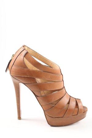 Christian Louboutin High Heel Sandaletten braun Elegant