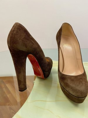 Christian Louboutin pumps with platform