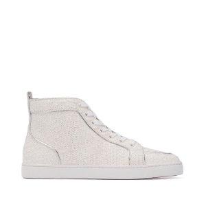 Christian Louboutin Sneaker bianco Pelle