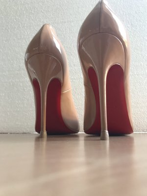 Christian Louboutin Simple Pumps 39,5  nude Topzustand