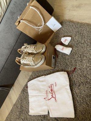 Christian Louboutin Sneaker (Platine/Light Gold)