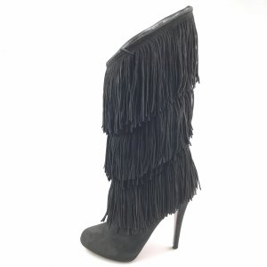 Christian Louboutin Boots black suede