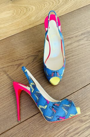 Christian Louboutin Summer High Heels Gr.37,5