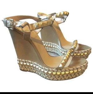 Christian louboutin wedges pumps 39 40 high heel designer louboutins
