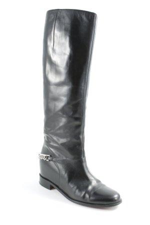 "Christian Louboutin Winter Boots ""Cate Boot Flat Calf/Chain"""