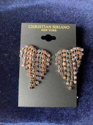 Christian Siriano New York Designer Ohrringe mehrfarbig