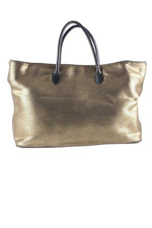 CHRISTIAN VILLA Shopper bronzefarben Casual-Look