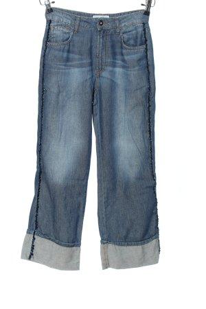 christina  gavioli Baggy Pants blau Casual-Look