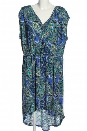 Christine Midi Dress abstract pattern casual look