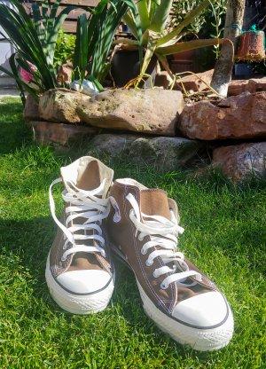 Chucks / Converse Chuck Taylor AllStar High Top / Sneaker / Braune Chucks / AllStar / Basketball / Skate