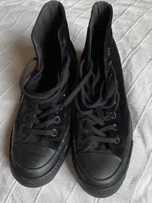 Converse Wysokie trampki czarny