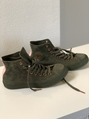 Converse Lace-Up Sneaker dark green