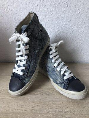 Diesel Ankle Boots cornflower blue