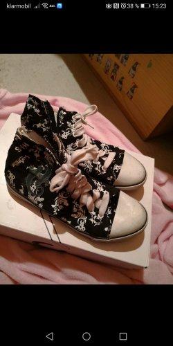 His Zapatos brogue blanco-negro